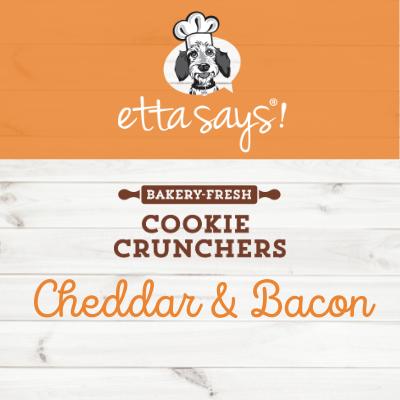 Etta Says Cheddar & Bacon Cookie Cruncher